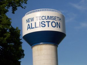 Alliston water tower