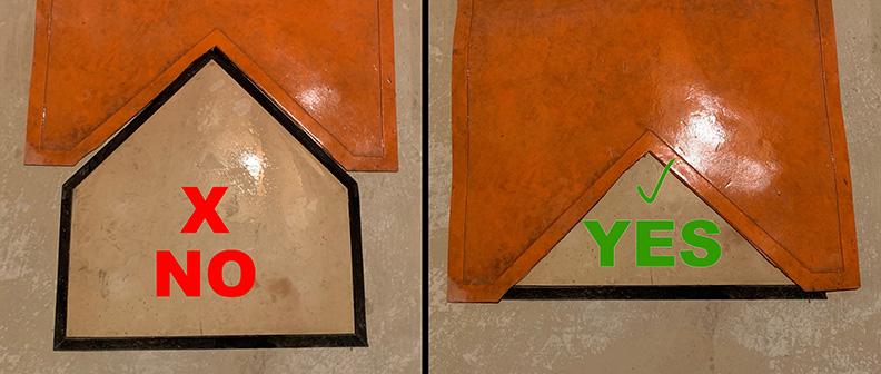 mat over homeplate