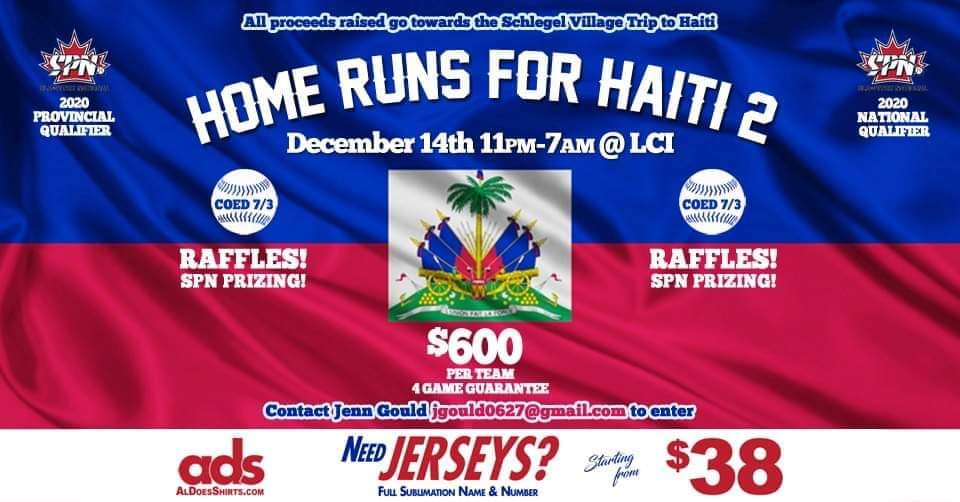 Dome Tournament Home Runs For Haiti